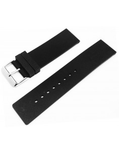 Zrc Gomma Black Silicon Strap 22mm