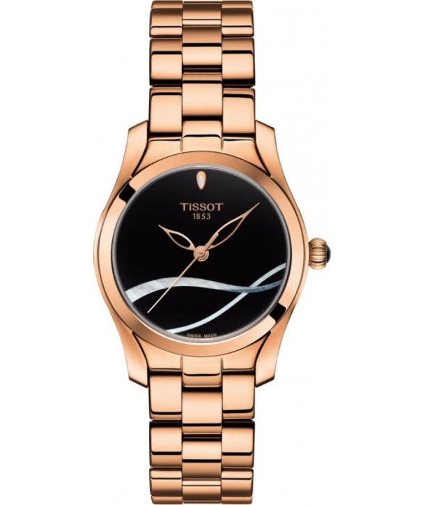 TISSOT T-WAVE rose gold bracelet
