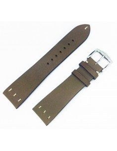 ZRC SAINT LOUIS 24MM VINTAGE GREEN LEATHER STRAP