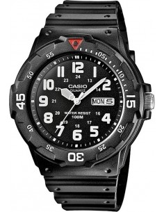 Casio Collection Black Rubber Strap