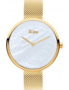 JCOU Luna Gold Stainless Steel Mesh Bracelet