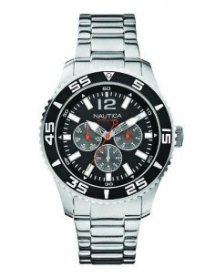 Nautica Multifunction Stainless Steel Bracelet