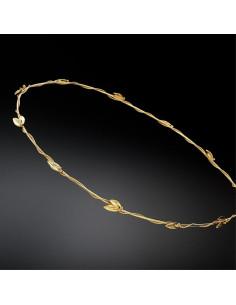 Στέφανα Γάμου Κίτρινο Χρυσό-Επιχρυσωμένα Ρόδη Ασήμι 925°  Επάργυρο a78b507ae6f