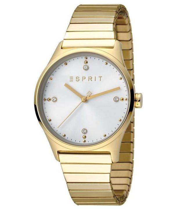 Ρολόι ESPRIT Vinrose Crystals Με Κίτρινο Χρυσό Ατσάλινο Μπρασελέ