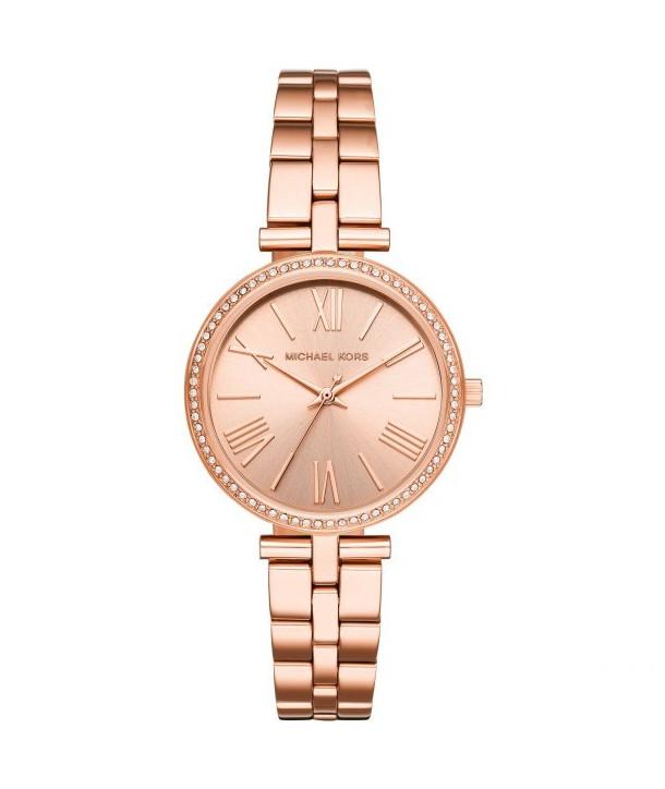 Ρολόι MICHAEL KORS Με Ροζ Χρυσό Ατσάλινο Μπρασελέ - Κοσμήματα ... 7b71c13f423