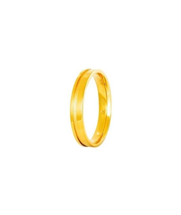 """Βέρες STERGIADIS """"S"""" Xρυσές Κίτρινο Χρυσό 3.5mm"""