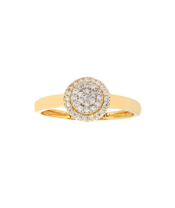 Δαχτυλίδι VITOPOULOS Χρυσό 14K Με Λευκά Ζιργκόν - Κοσμήματα ... c54875574f0