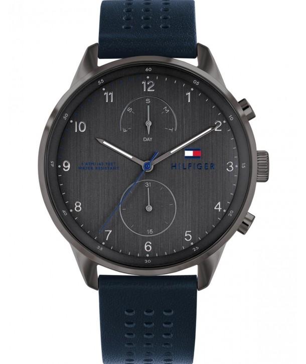 Ρολόι TOMMY HILFIGER Casual Με Μπλε Δερμάτινο Λουράκι 1791578