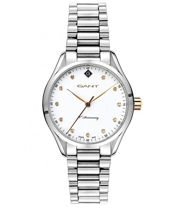 Ρολόι GANT Sharon 70th Anniversary Με Ασημί Ατσάλινο Μπρασελέ G129007
