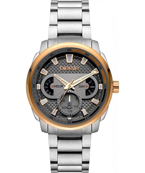 Ρολόι BREEZE CitySpicer Με Ασημί Ατσάλινο Μπρασελέ 712102.6