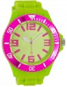 Ρολόι OOZOO Timepieces Με Πράσινο Καουτσούκ Λουράκι C5823