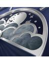 Ρολόι AVIATOR MoonFlight Με Μπλε Δερμάτινο Λουράκι V.1.33.0.255.4