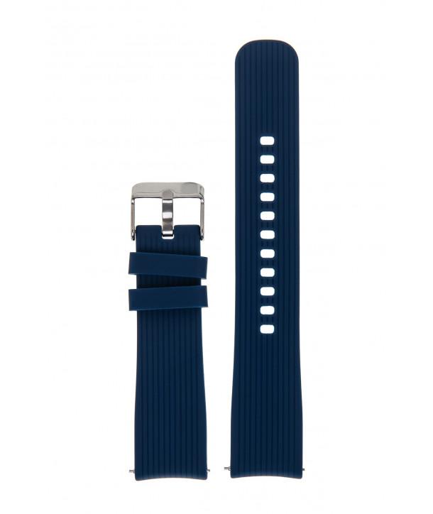 Λουράκι Μπλε Σιλικόνης 20mm για Samsung Galaxy