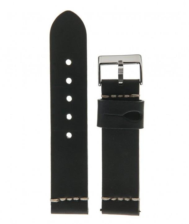 Λουράκι DILOY Vintage Μαύρο 22mm