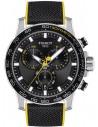 Ρολόι TISSOT Supersport Chrono Με Μαύρο Υφασμάτινο Λουράκι