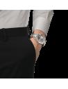 Ρολόι TISSOT Gentleman Titanium Mε Ασημί Μπρασελέ Από Τιτάνιο