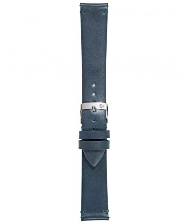 Λουράκι MORELLATO Μπλε Δερμάτινο 20mm