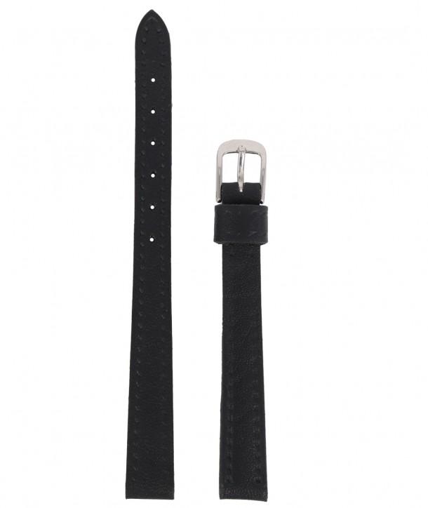 Λουράκι TZEVELION Μαύρο Δερμάτινο 10mm