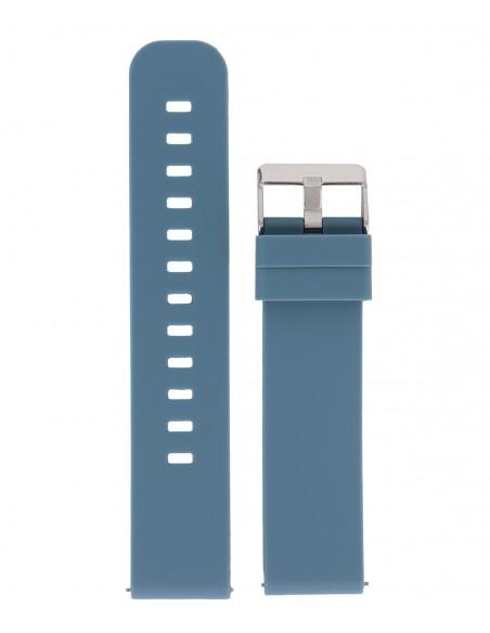 Λουράκι DILOY Μπλε Σιλικόνης 18mm