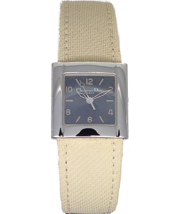 Christian DIOR White Leather Strap