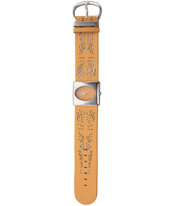 JUST CAVALLI Brown Leather Strap