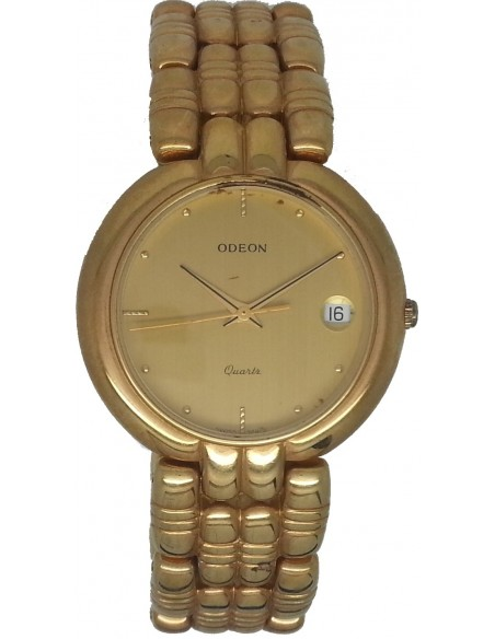 ODEON Gold Stainless Steel Bracelet