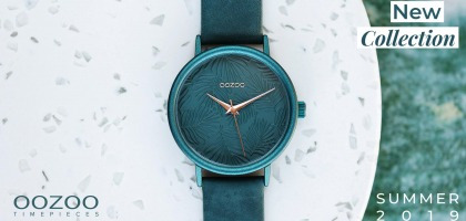 OOZOO Timepieces - New Summer collection 2019